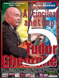 Afis Tudor Gheorghe - Concert Al 5-lea Anotimp - 5 aprilie 2011