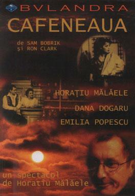 Afis Teatrul Bulandra - Cafeneaua