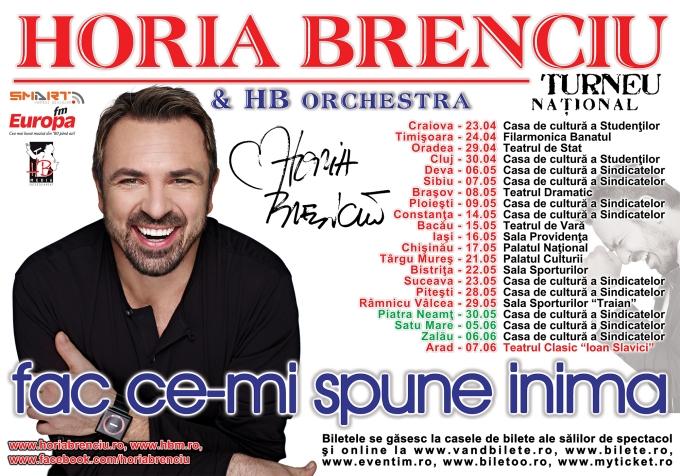 Horia Brenciu - Afis